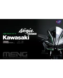 1/9 Kawasaki Ninja H2R (Pre-colored) Meng 001