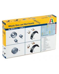 1/24 Wheels, Rims and Mud Guards (ITA3870)