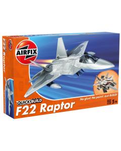 QUICKBUILD F-22 Raptor Airfix 6005
