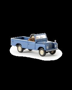 H0 Land  Rover  109  offen,  blau (BRE13750)