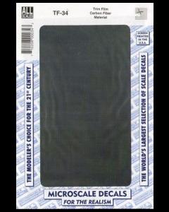 Carbon Fiber material, black - Microscale TF-34 Microscale 20634