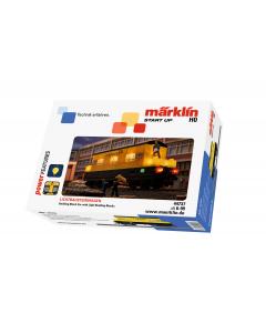"""H0 Start Up - Bouwsteenwagen """"Post Express"""" met Licht Marklin 44737"""