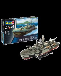 1/72 Patrol Torpedo Boat PT-588/PT-579 (REV05165)