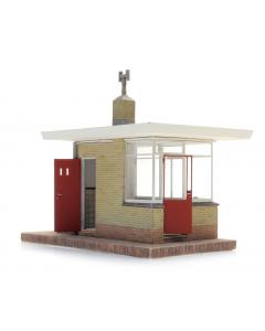 H0 Overweg Wachtpost W32 (bouwpakket) (ART10395)