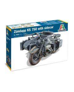 1/9 Zundapp K750 w/Sidecar (ITA7406)