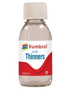 Acrylic Thinner 125ml Humbrol 7433