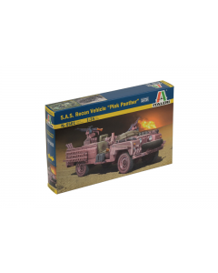 """1/35 S.A.S. Recon Vehicle """"Pink Panther"""" (ITA6501)"""