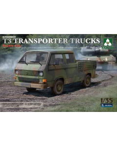 1/35  VW  T3  Transporter  Trucks  Double  Cab (TAK2014)