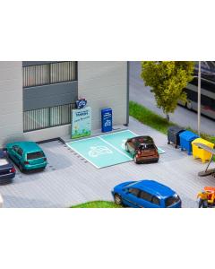 H0 Laadstation voor elektrische auto