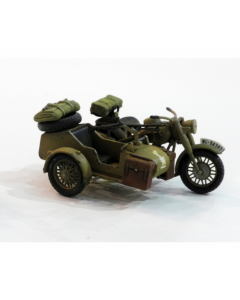 1/48 Duitse Motorfiets + Zijspan (TAM32578)