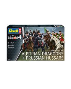 """1/72 Austrian Dragoons & Prussian Hussars, """"Seven Years"""
