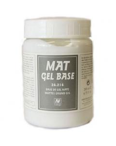 Mat Gel Base 200ml - Vallejo 26216 (VAL26216)