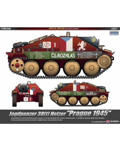 "1/35 Jagdpanzer 38(t) Hetzer - ""Prague 1945"" (ACA13277)"