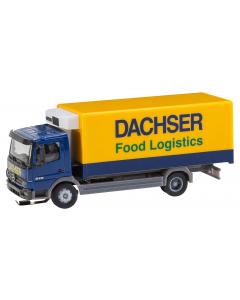 H0 Car System: Vrachtwagen MB Atego Dachser koelopbouw (HERPA) Faller 161555