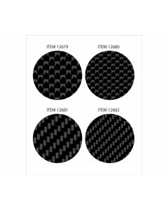 Carbon Pattern Decal Set - Plain Weave/Extra Fine Tamiya 12680