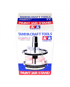 Paint Jar Stand with 4 Alligator Clips Tamiya 74077