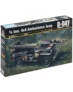 1/35 1/4 ton. 4x4 Ambulance Jeep (ITA0326)