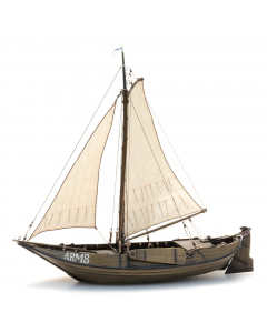 H0 Hoogaars vissersschip (bouwpakket) Artitec 50141