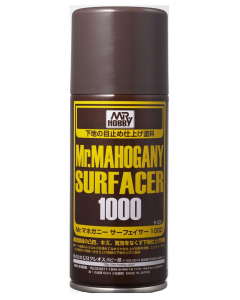 Mr. Mahogany Surfacer 1000 Spray 170ml Mr. Hobby 528