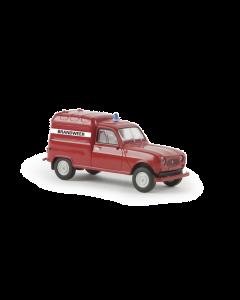 H0 Renault  R4  Fourgonnette  -Bran (BRE14735)