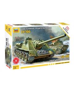 1/72 Soviet SU-100, Tank Destroyer (ZVE5044)