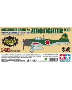 1/48 Mitsubishi. A6M5 Zero (Zeke) Zilver mat Tamiya 10317