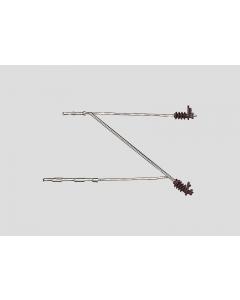 H0 Bovenleiding Afzonderlijke Arm, 5 stuks (MAR74151)