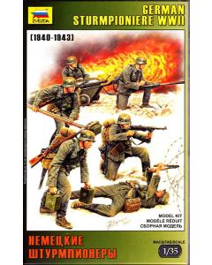 1/35 German Sturmpioniere WWII (1940-1943) (ZVE3613)