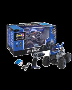 """1/16 RC Monster Truck """"Big Shark"""", 2.4GHz 2-CH Revell 24558"""