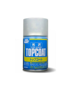 Mr. Topcoat Gloss Spray 88ml Mr. Hobby 501