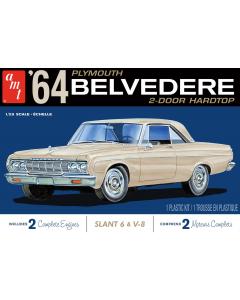 1/25 1964 Plymouth Belvedere 2-Door Hardtop AMT Models 1188