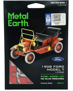 Metal Earth: 1908 Ford Model T (Red) - MMS051C Metal Earth 570051