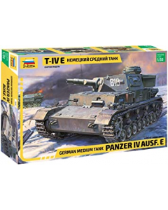 1/35 German Panzer IV Ausf. E, Medium Tank (ZVE3641)