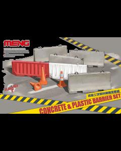 1/35 Concrete & plastic barrier set Meng 012
