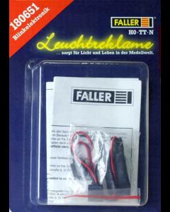 H0 Knipperende Lichtreclame, elektrisch Faller 180651