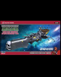 1/2500 Galaxy Express 999 Space Pirate Battleship Arcadia Third Ship (Variant) - Hasegawa 64787 Hasegawa 64787
