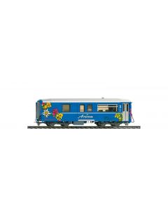 "H0m RhB BD 2481 Gepäckwagen ""Arosa Express"" - Bemo 3248 141 Bemo 3248141"