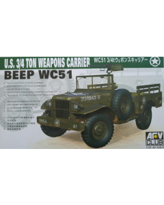1/35 US 3/4 Ton  Weapons Carrier Beep WC 51 (AFV35S15)