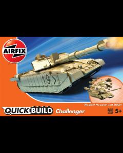QUICKBUILD Challenger Tank Airfix 6010