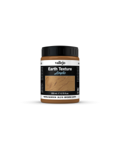 Brown Earth, Earth Texture 200ml - Vallejo 26219 (VAL26219)