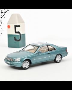 1/18 Mercedes CL600 Coupé 1997, blue metallic Norev 183448