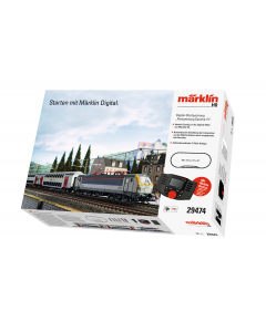 "H0 SNCB/NMBS Startset Digitaal ""Epocht VI"" E-Lok HLE 18 met 2-Passagiersrijtuigen (MAR29474)"
