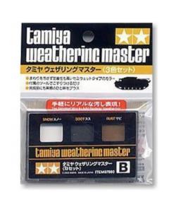 Weathering Master B Set (Snow, Soot, Rust) (TAM87080)