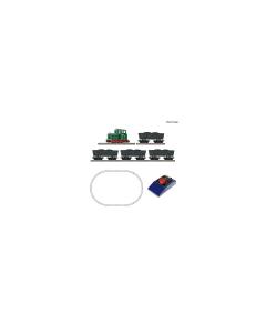 H0e Startset Veldbaan Analoog - Smalspoorloc met Lorries, tijdperk III Roco 31034