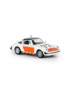 H0 Porsche 911 G Targa TD 1976, Rijkspolitie 77, (BRE16359)