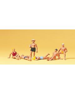 H0 Mensen op het strand (PRE10071)