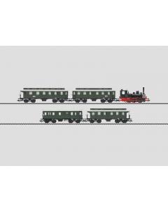 H0 DB Treinset Reizigerstrein BR 89 met 4-Personenrijtuigen Marklin 26555