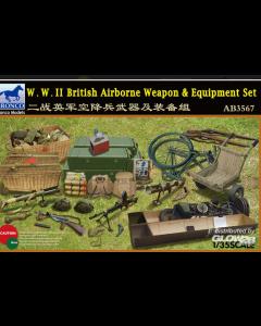 1/35 WWII British Airborne Weapon & Equipment Bronco Models 3567