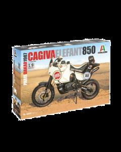 "1/9 Cagiva ""Elephant"" 850 Paris-Dakar 1987 (ITA4643)"