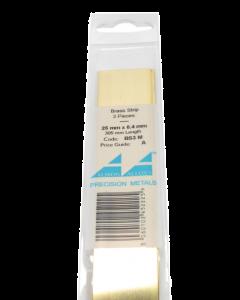 Messing Strip 0.4X25.0mm, 3 stuks Albion Alloys 3